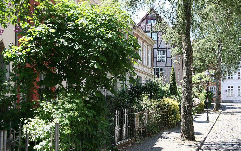 Lübecks gader har sharme og er inspirerende at gå i