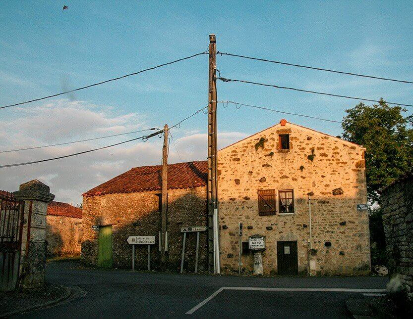 Saint Martin-Lars en Sainte Hermine