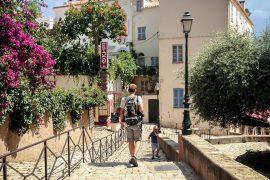 Peter og Sebastian, Bastia, Korsika