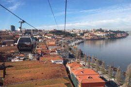Teleferico de Gaia, Porto, Portugal