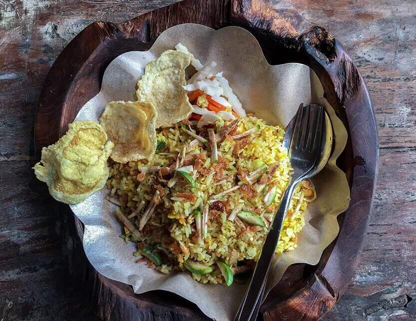 Nasi goreng, Warung Mendez, Ubud