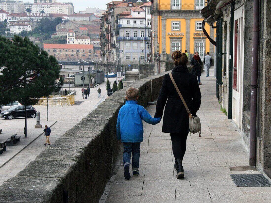 Lise og Sebastian, Porto, Portugal