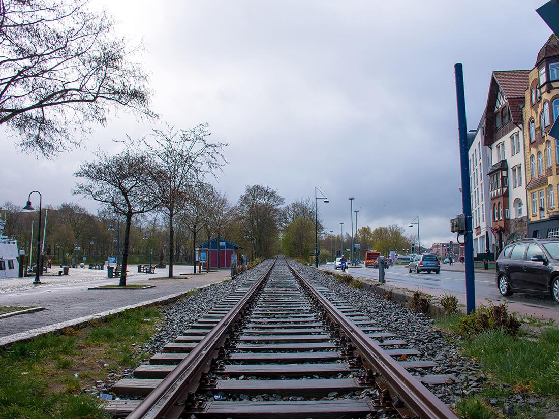 Togbanen i Flensburg
