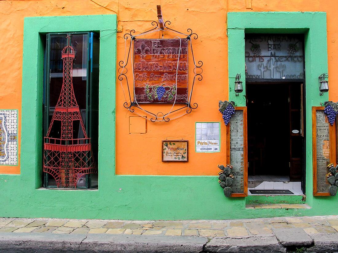 Butik i San Cristóbal de las Casas, Mexico (DSLR kamera)