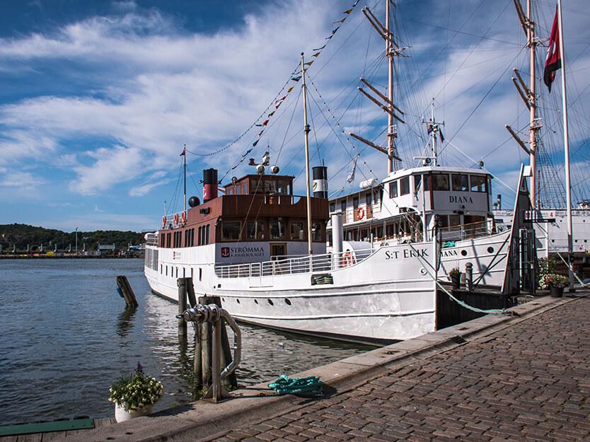 Der er meget at kigge på i Göteborgs havn