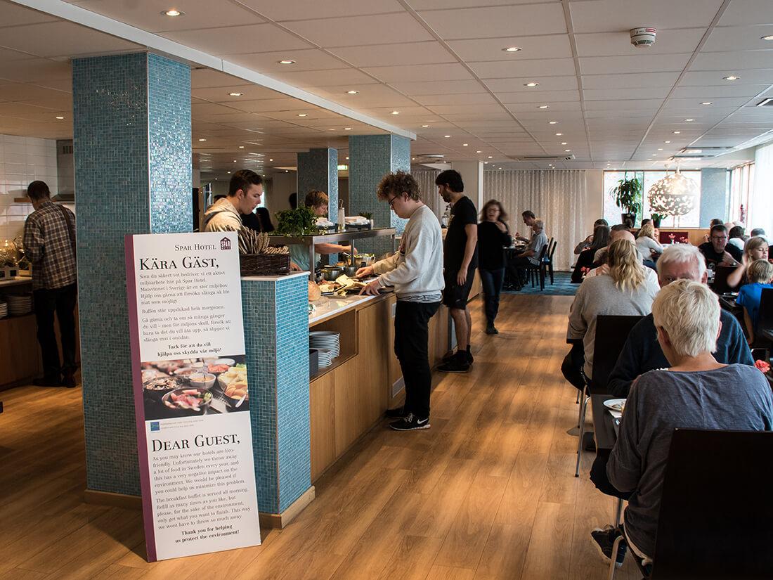 Morgenmadsbuffet, Spar Hotel Majorna, Göteborg