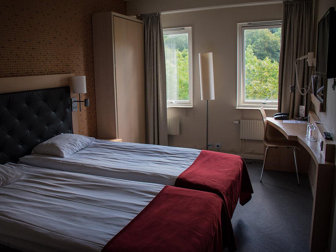 3 mands væreslet, Spar Hotel Majorna