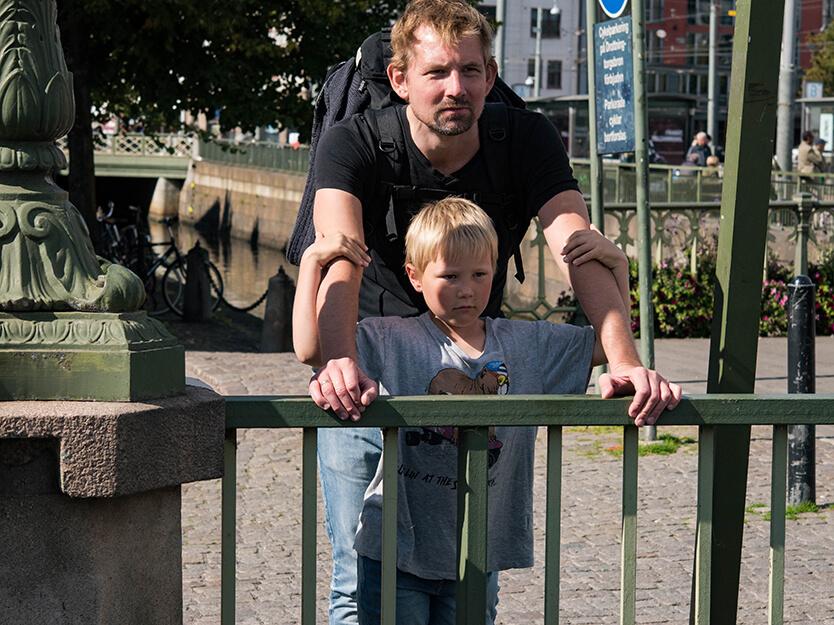 Der er grund til at stoppe op mange gange, når du er til fods i Göteborg