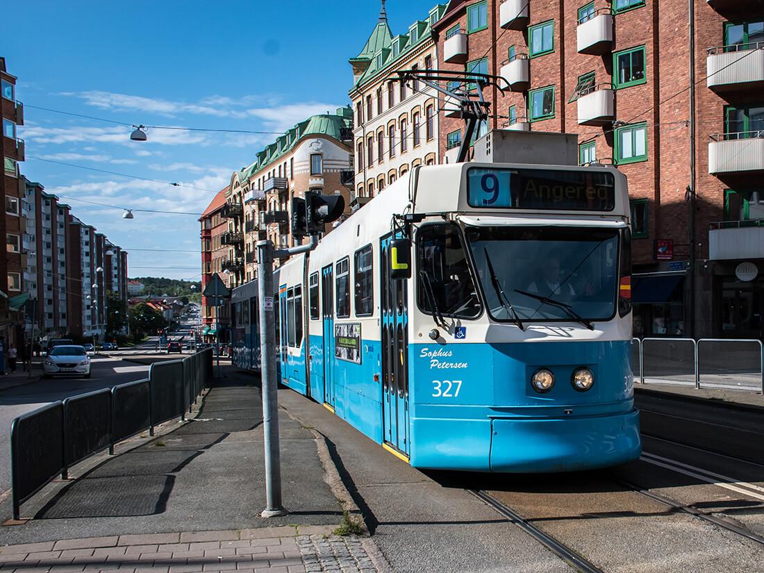 Sporvogn i Göteborg