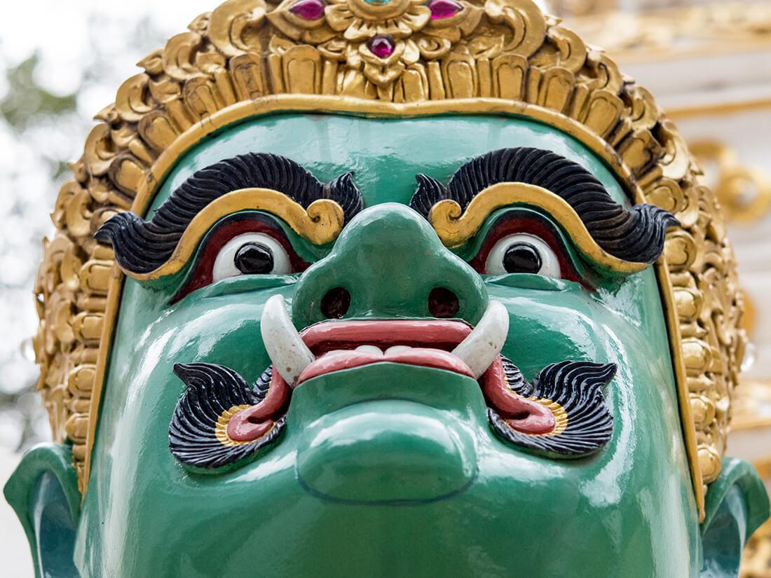 Thai statue, Chiang Mai, Thailand