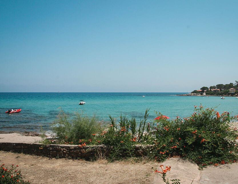 Der er mange smukke strande på Korsika