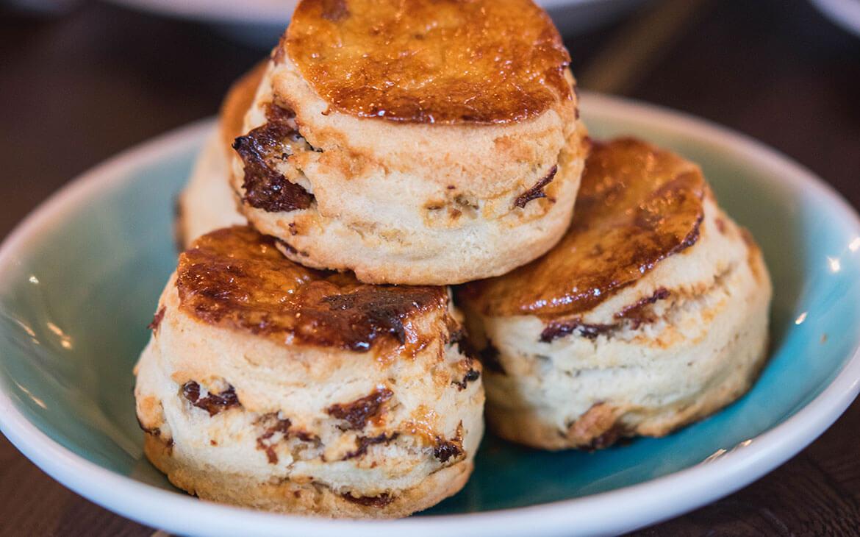 Vi fik de mest vidunderlige scones på Barbecoa, London