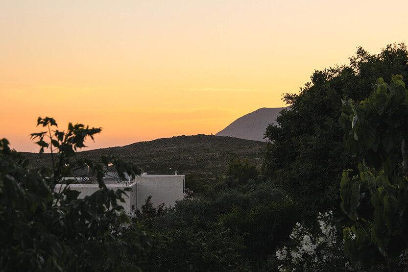 Solnedgangene på Sydkreta er nogle af de smukkeste.