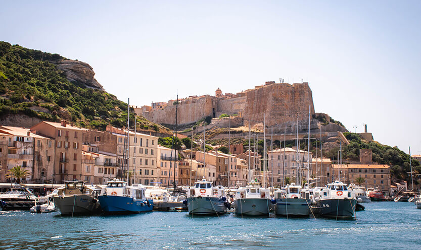 Havnen i Bonifacio