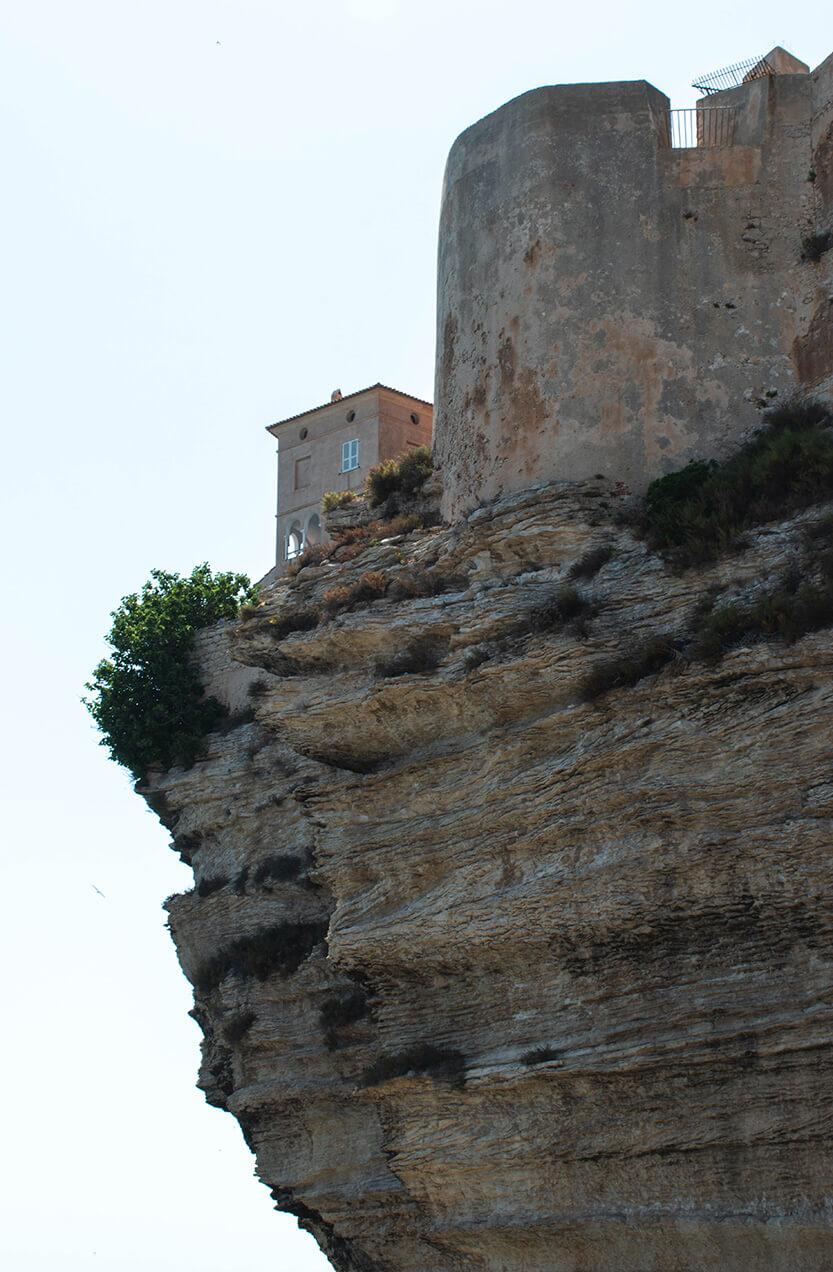 Bonifacios fort... særlig smukt nedefra.