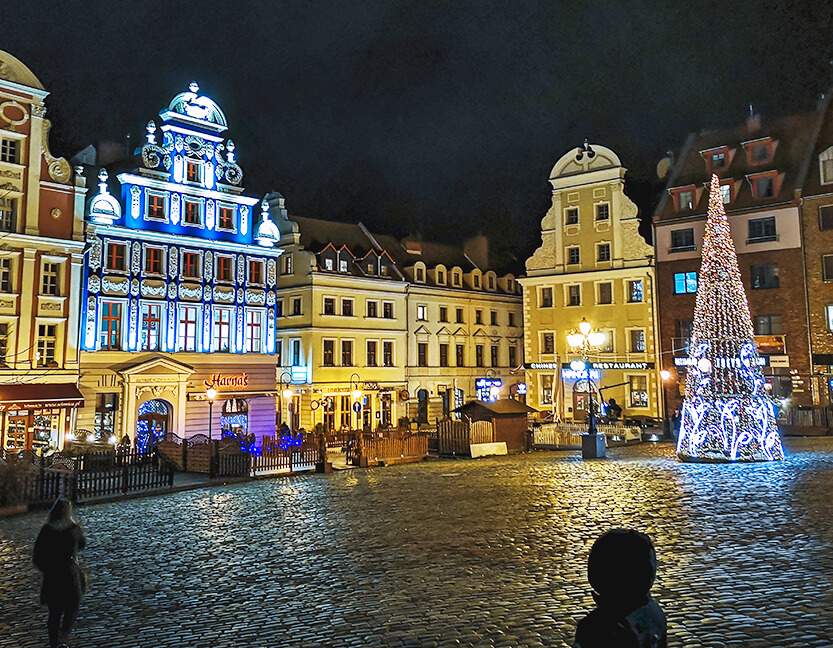 Julen varer længe i Szczecin