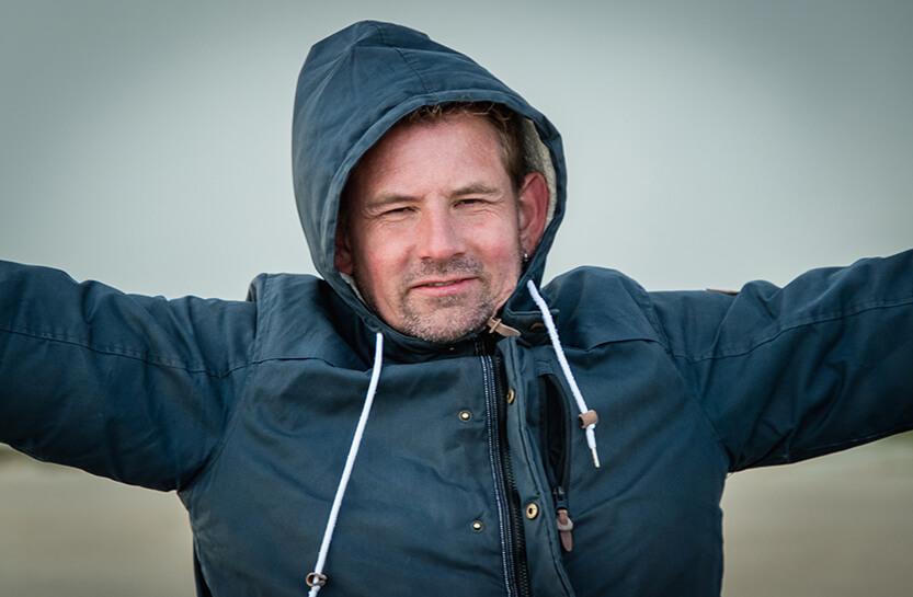 Det er svært at forstå hvor meget vind der findes før man har prøvet at stå på en fanø'sk strand