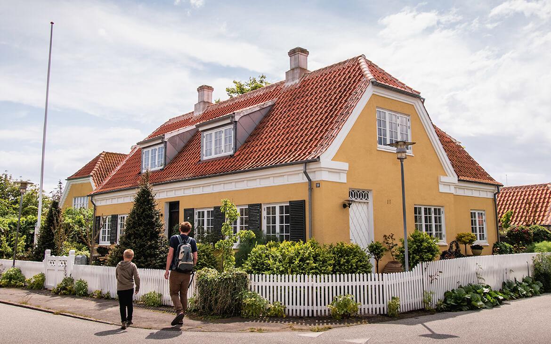 Der er så mange flotte huse i Skagen