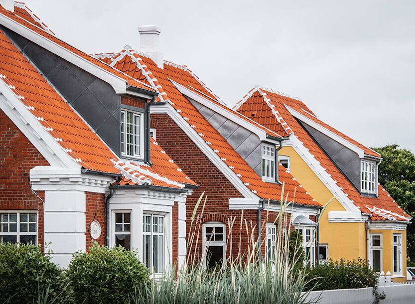 Nogle af Skagens smukke huse