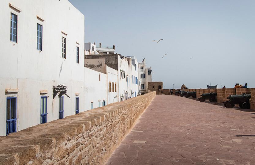 Promenaden ved Borj el Barmil