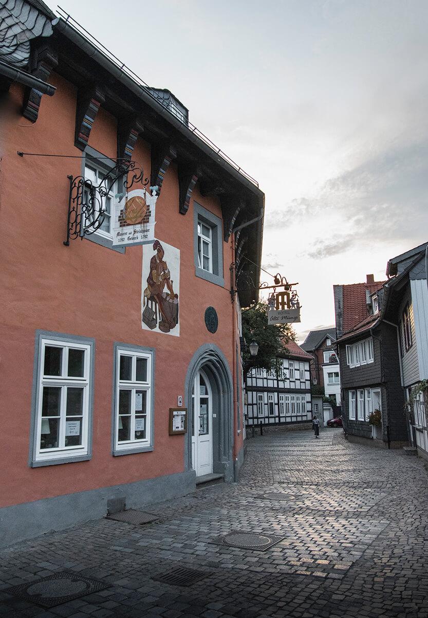 Gaden rundt om Hotel Alte Münze