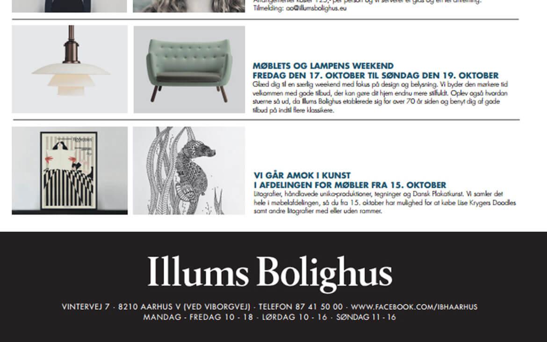 Så kom jeg på Illum Bolighus' aktivitetsliste