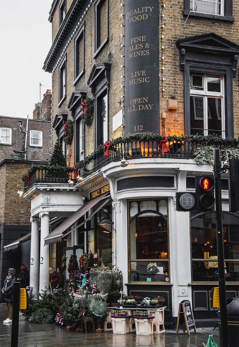 London pyntet op til jul
