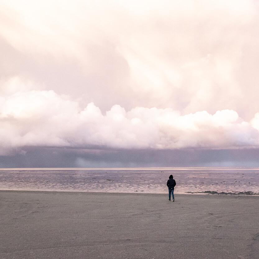 Sebastian på den store strand, Fanø
