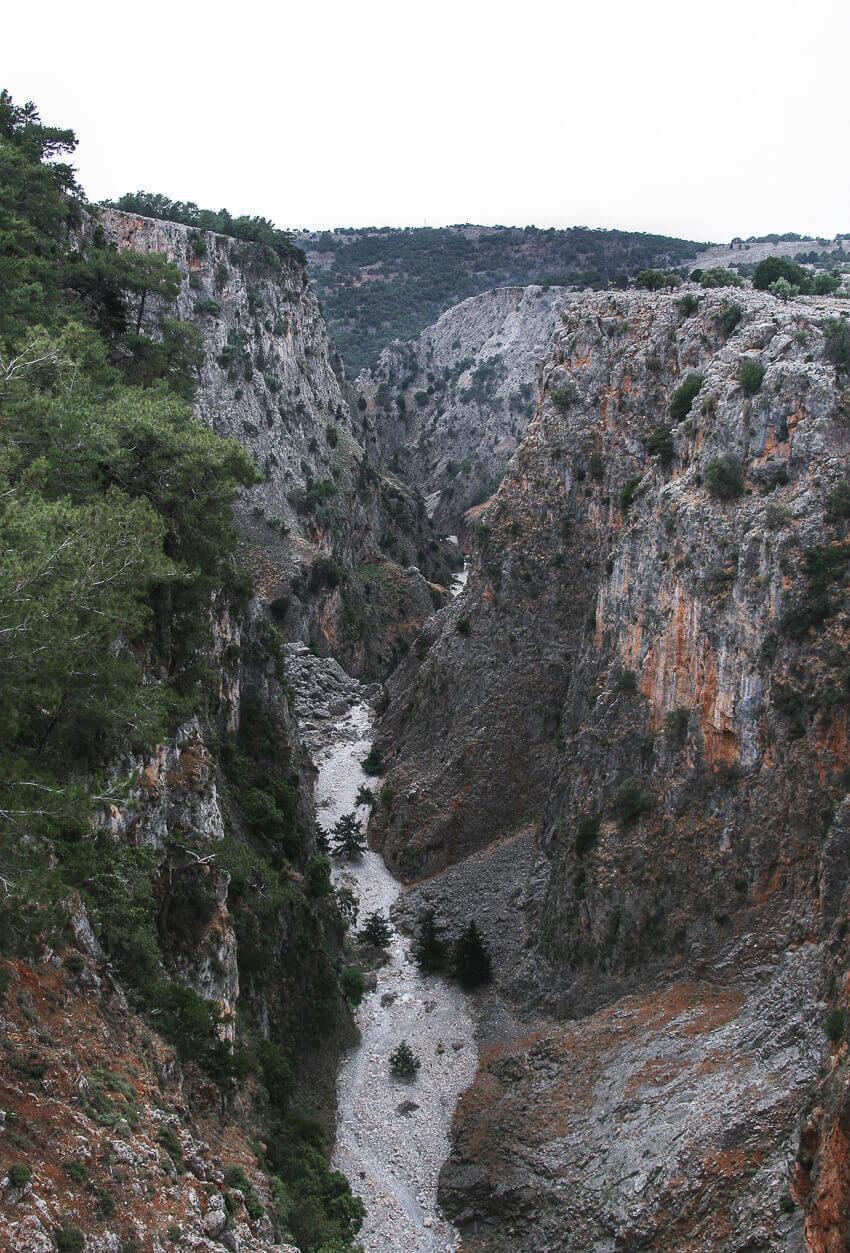 Aradena kløften, Kreta, Grækenland