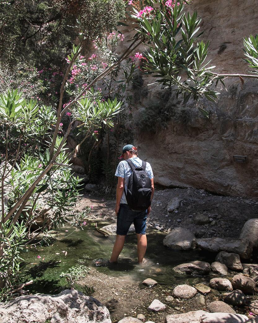 På vej ud til Avakas Gorge