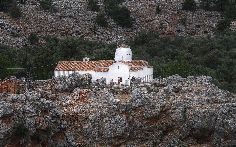 Lille kirke på Creta, Grækenland