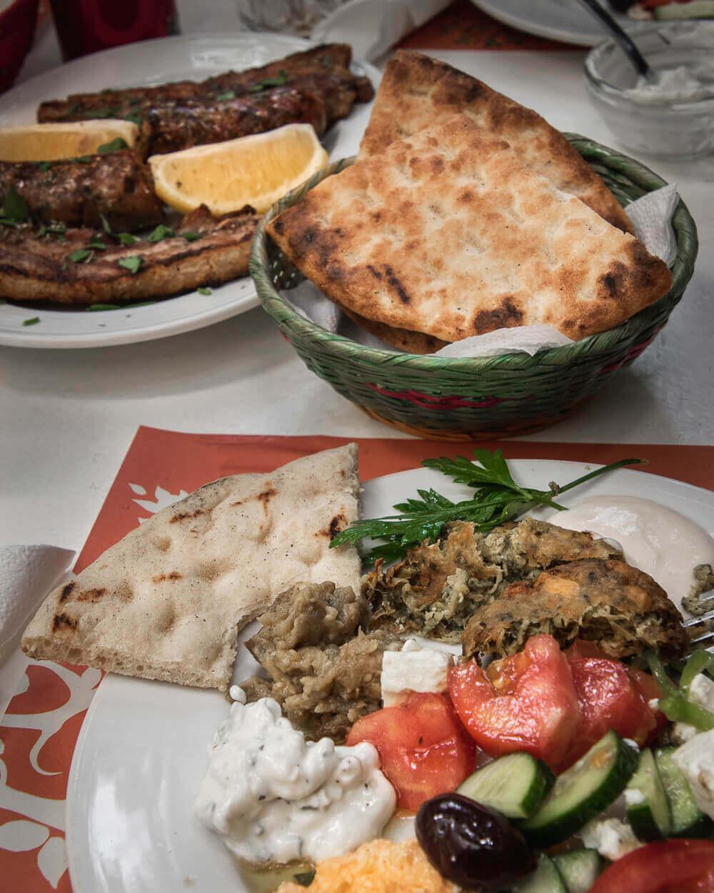Frokost meze i Nicosia, Cypern