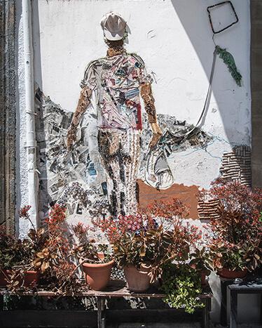Vægkunst i Nicosia
