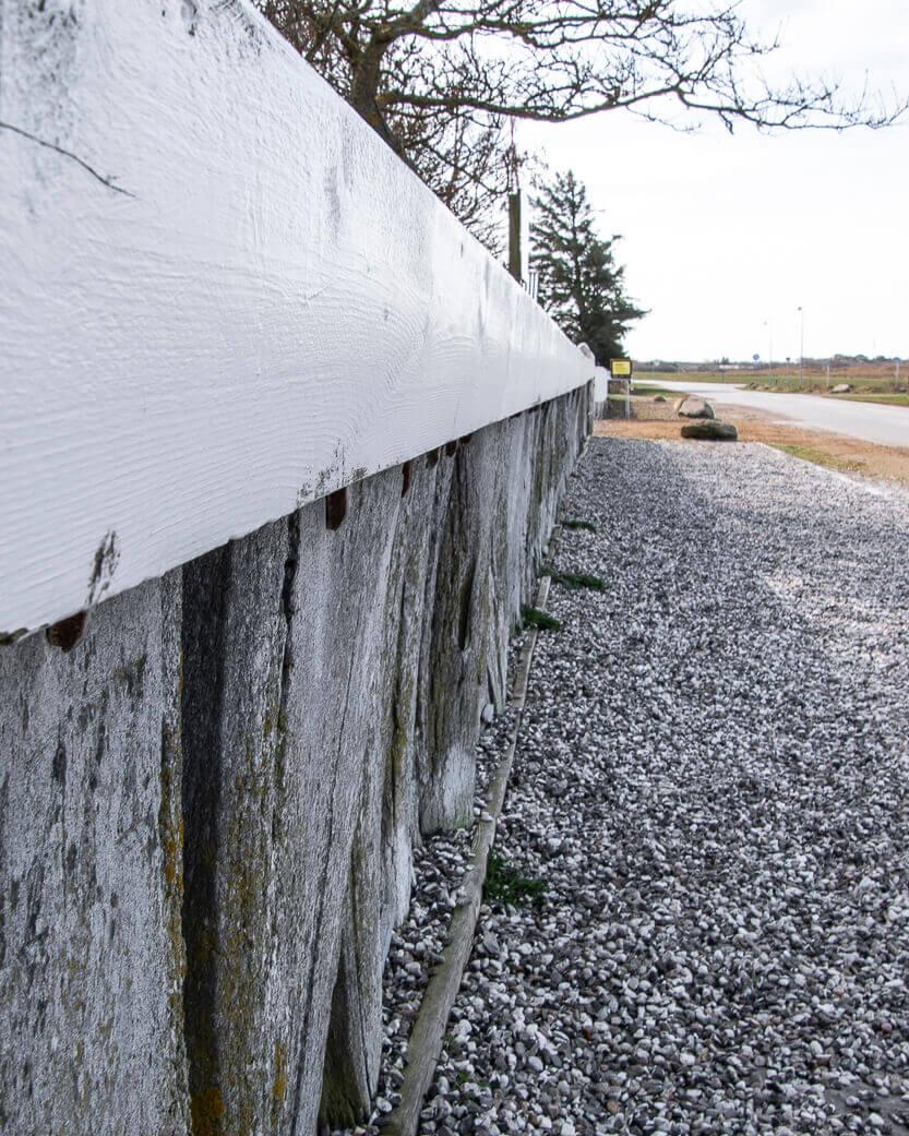 Hvalknogle hegn på Rømø