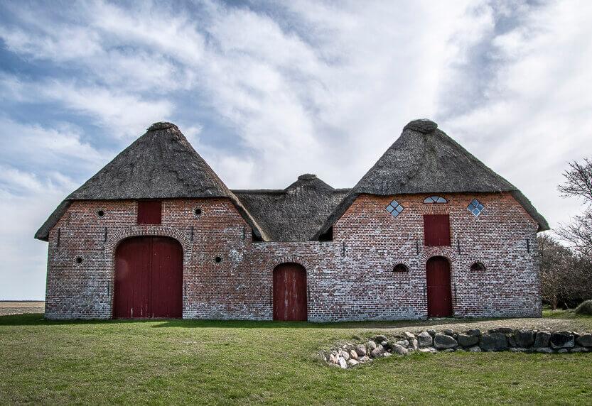 Kommandørgården står stor og flot på Rømø