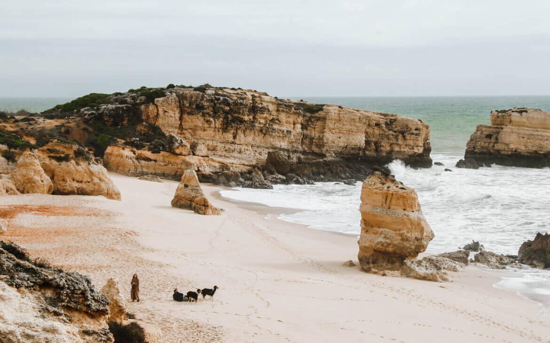 Algarves strande og kyster er utroligt smukke