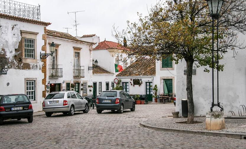 Byerne er stadig smukke om vinteren i Algarve