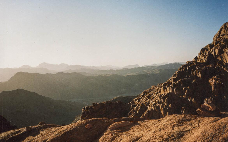 Mount Sinai Solopgang