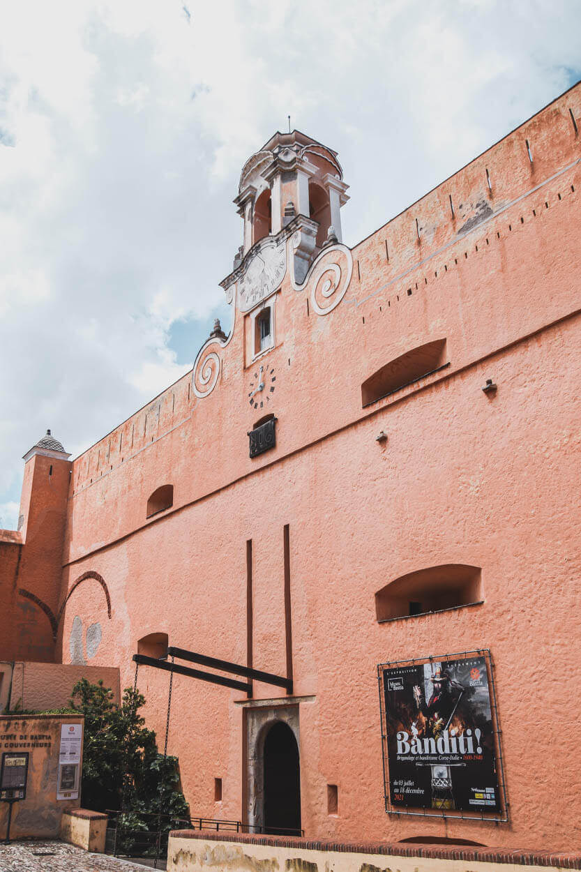 Palazzu di i Guvernadori - tidligere guvernørernes palads - nu museum