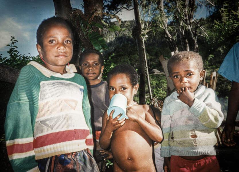 Børnene fra Irian Jaya