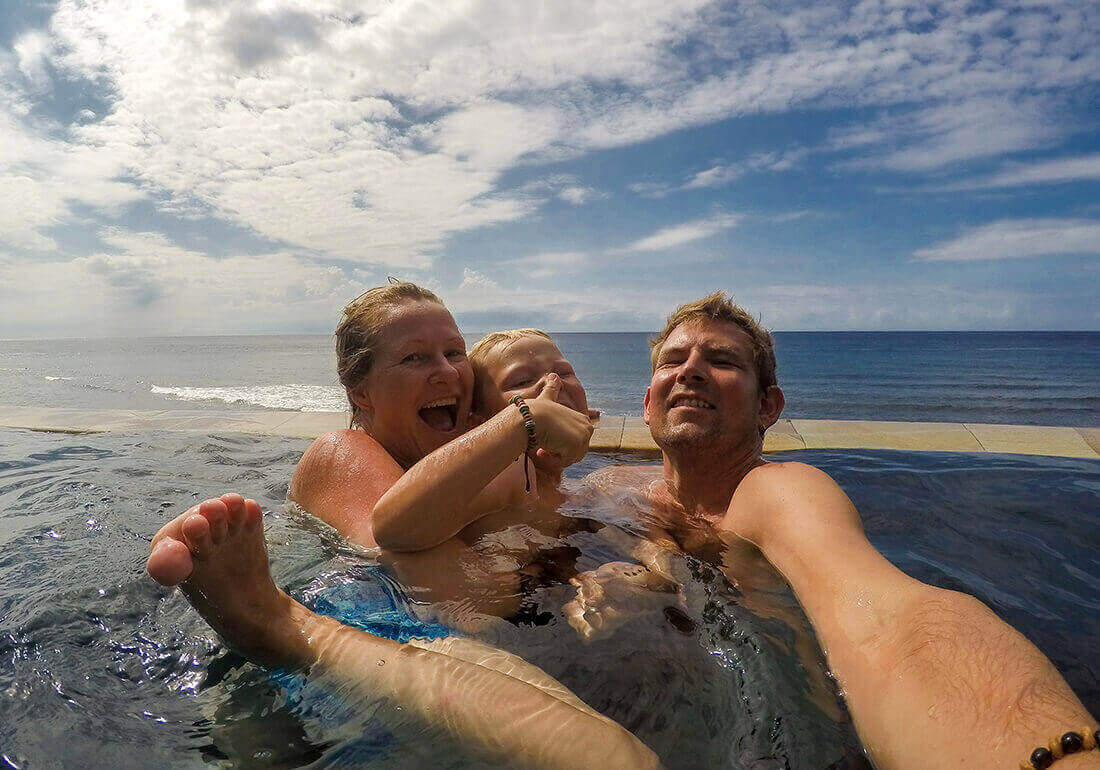 Familietur til Bali