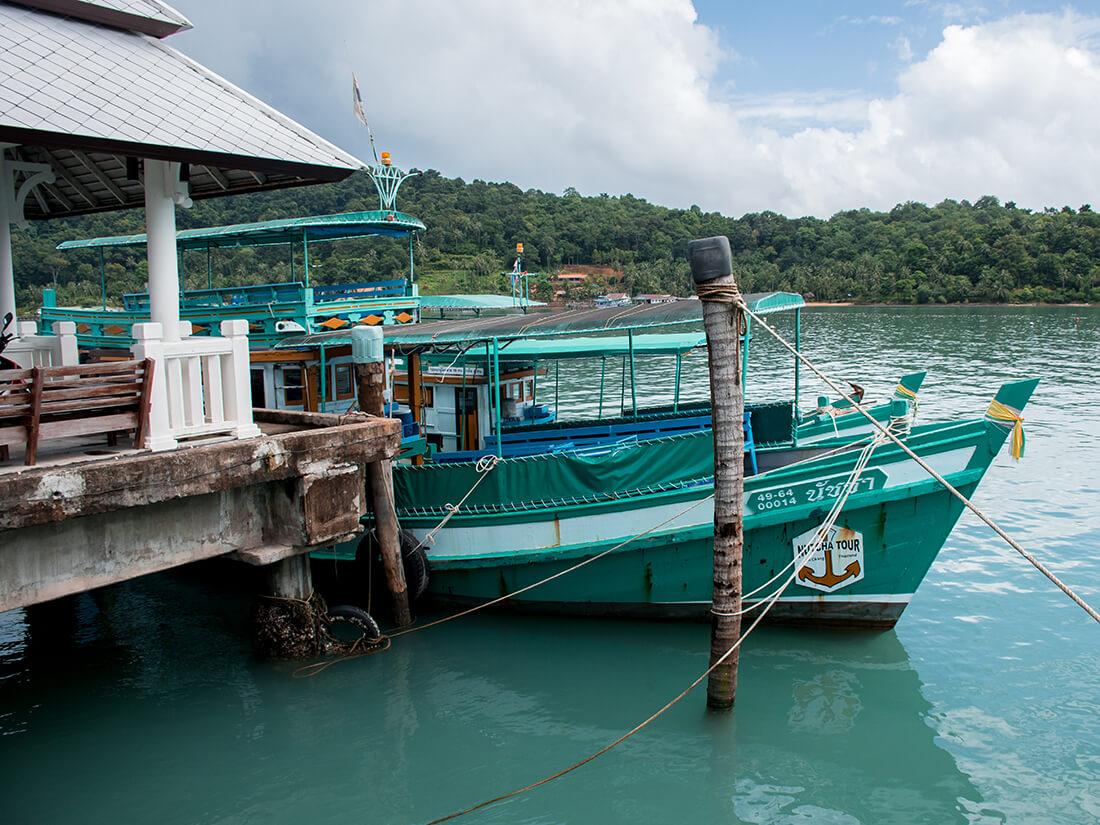 Bangbao båd, Koh Chang