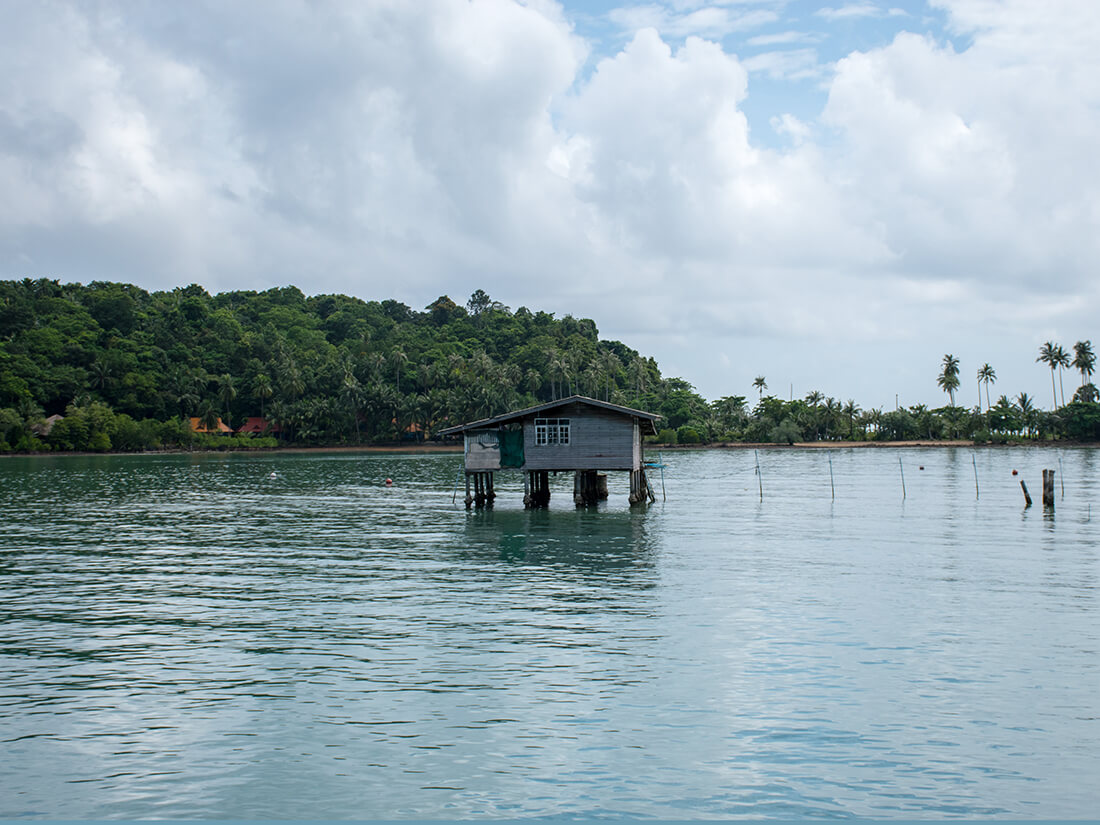Fiskerhus, Bangbao, Koh Chang