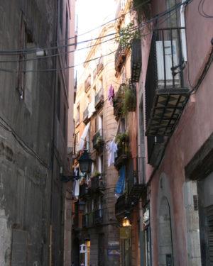 Latinerkvarteret i Barcelona